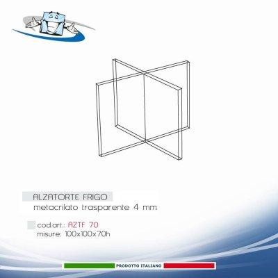 Digipressto - Profilo in alluminio laccato nero