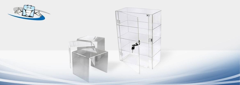 Espositori per Vetrine in Plexiglass